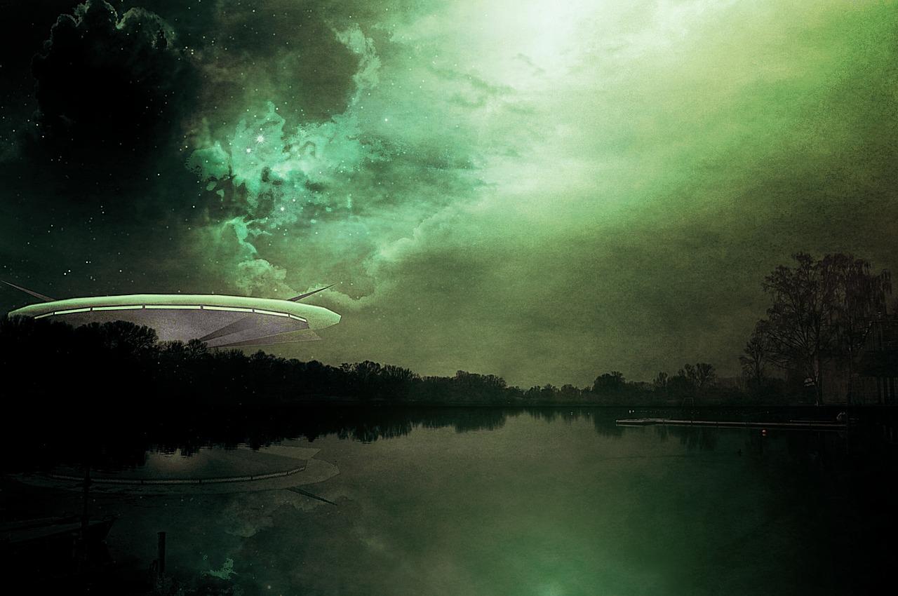 Mass hysteria UFO scare
