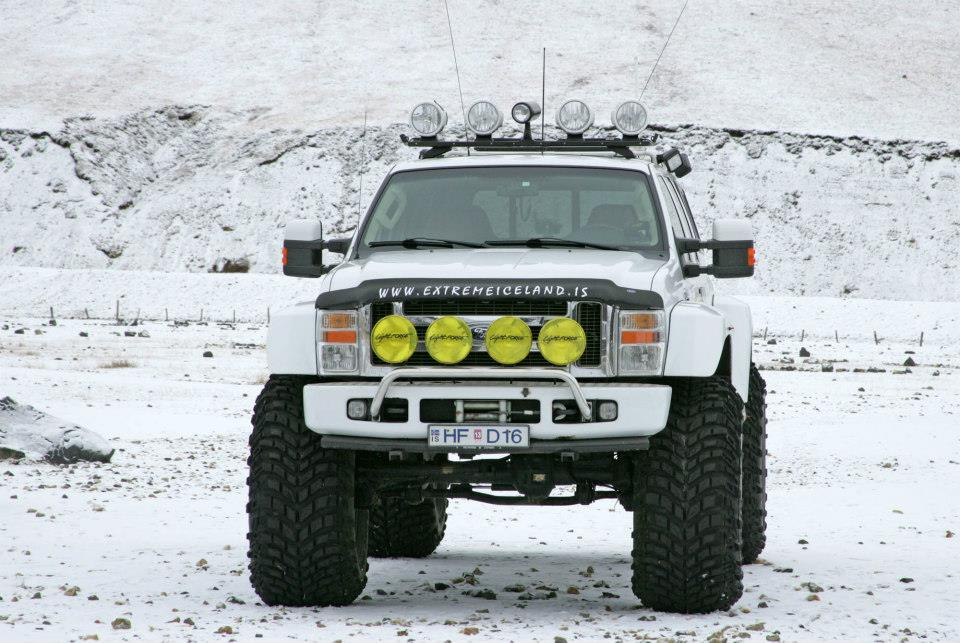 Iceland super jeeps and monster trucks
