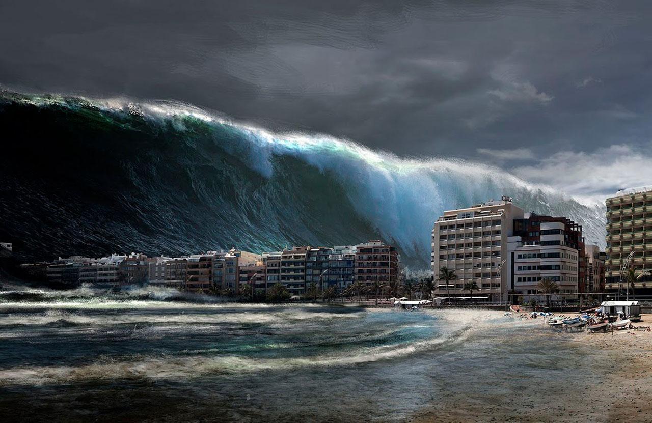 Giant Tsunami