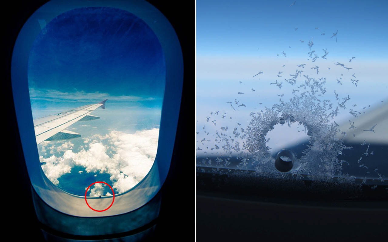 Airplanes and airplane windows