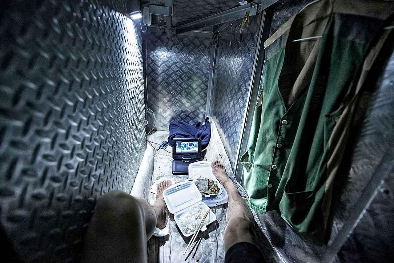 Benny Lam, Hong Kong, Trapped, SOCO, COffin Homes