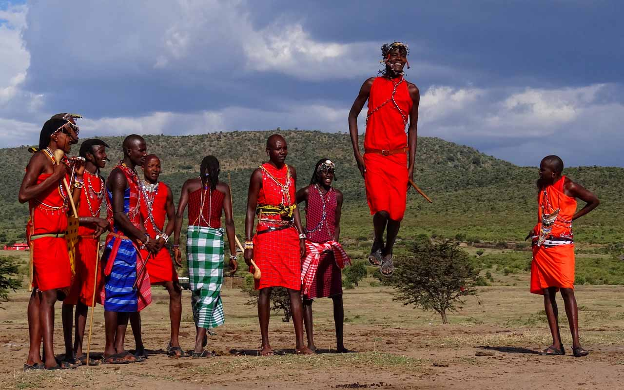 Masai Tribe, 9/11, Cows, Donate, Respect