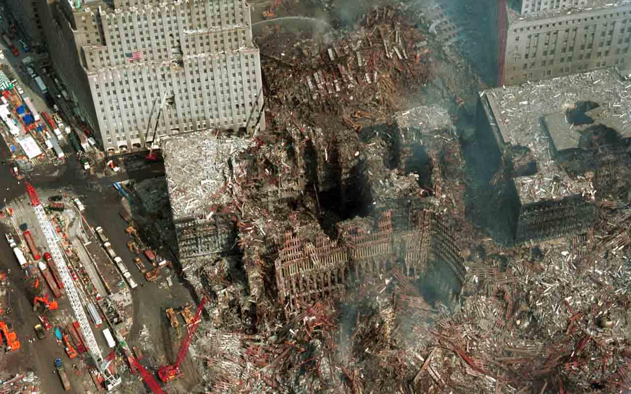 Crash Site, Ground Zero, 9/11