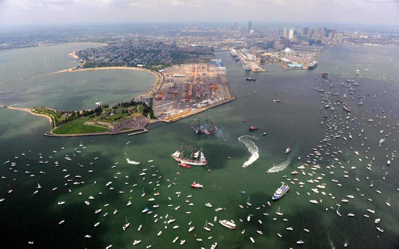 Boston, Massachusetts, Sea level, rising water, climate change, global warming, ocean