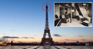 Eiffel tower, secret apartment, room, Gustave Eiffel, Paris, France, Mind Blowing Facts