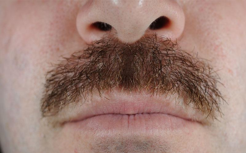 mustache hair, man, manliness