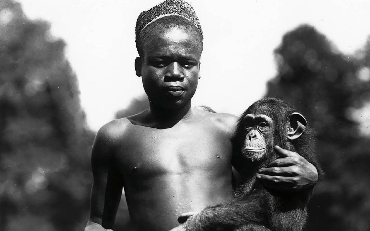 Ota Benga, Africa, Congo, Congolese man, museum, monkey, zoo, sad