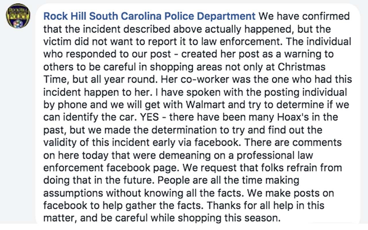 Awareness, police, investigators, fact, facts