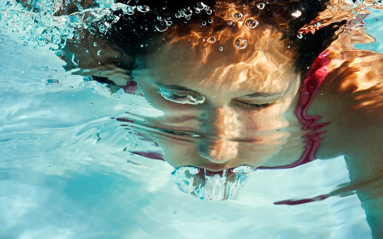 There is a process called delayed drowning, in which a person drowns even though they are no longer in a body of water.