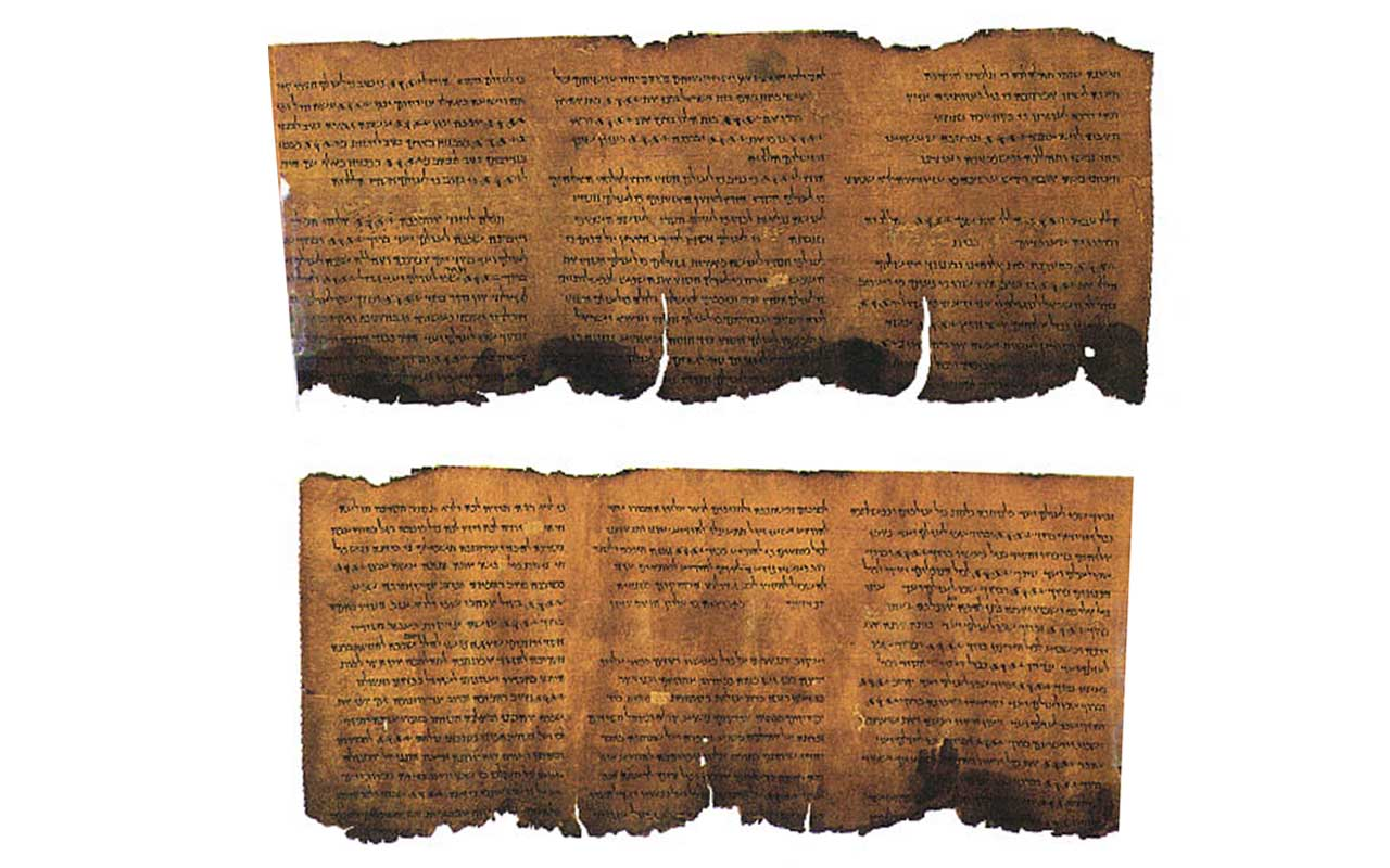 Shepherd boys find the Dead Sea Scrolls