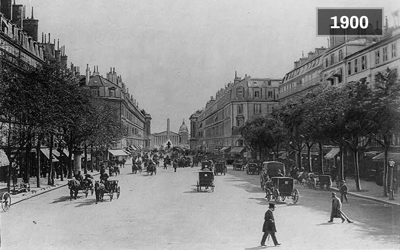 Paris, France (1900, Today)