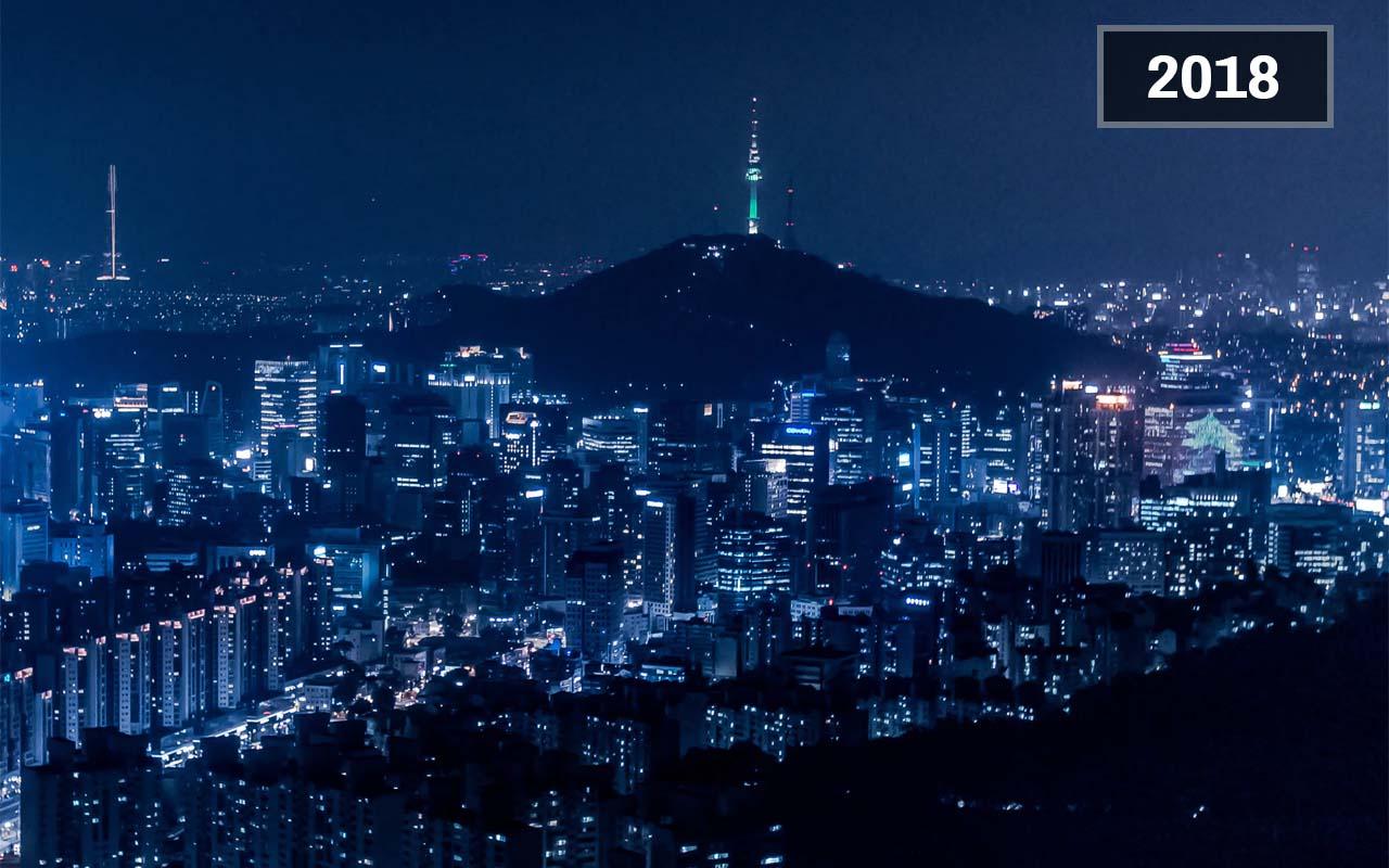 Seoul, South Korea (1900 - Today)