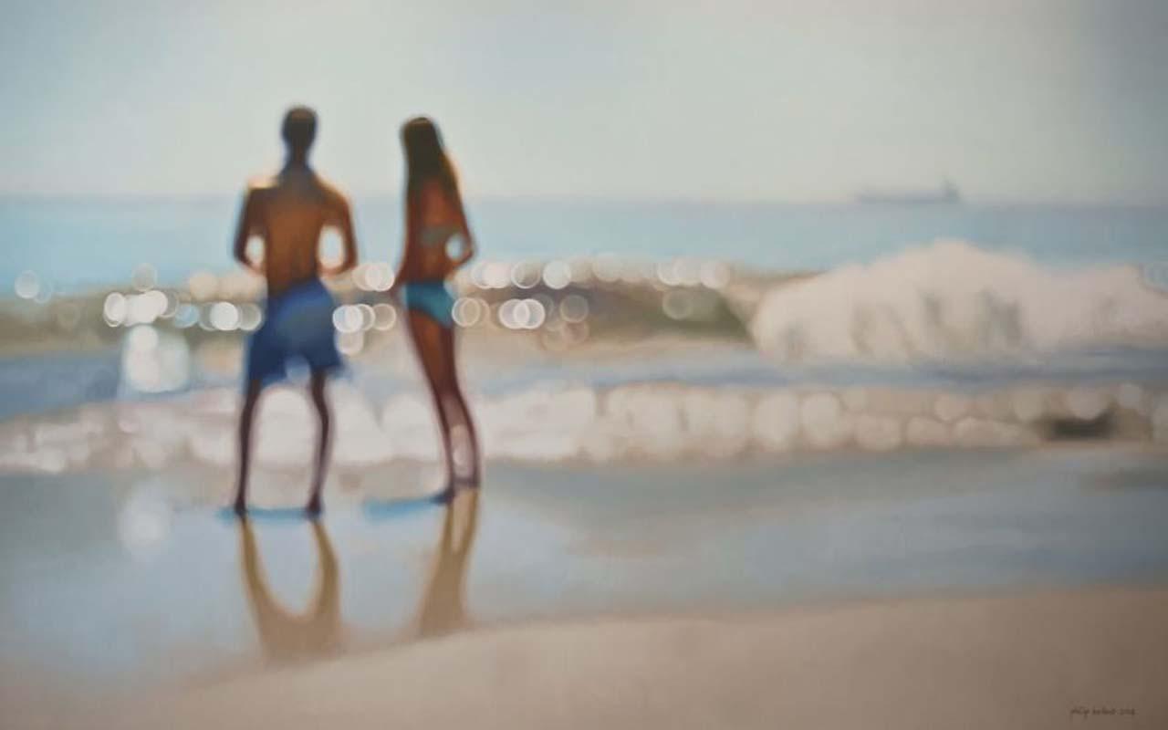 Philip Barlow, painting