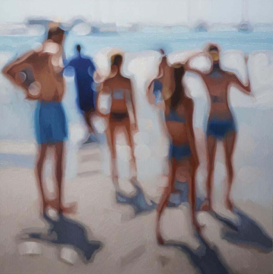 Philip Barlow, artist, oil painting, sale, instagram