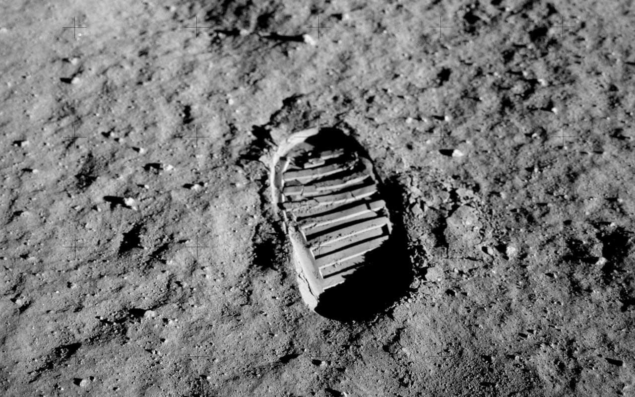 Footprint on the Moon, 1969