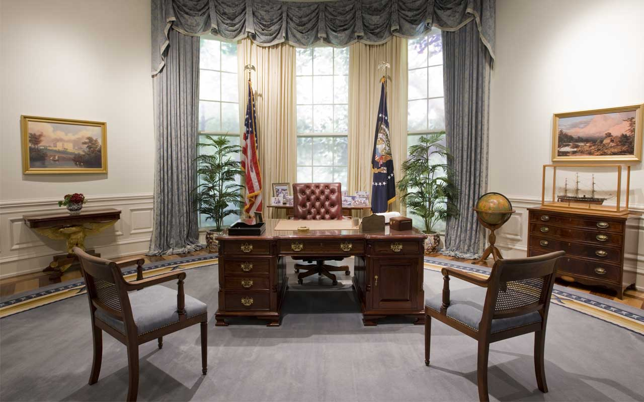 They are capable of tracking the President's movements inside the Oval Office.