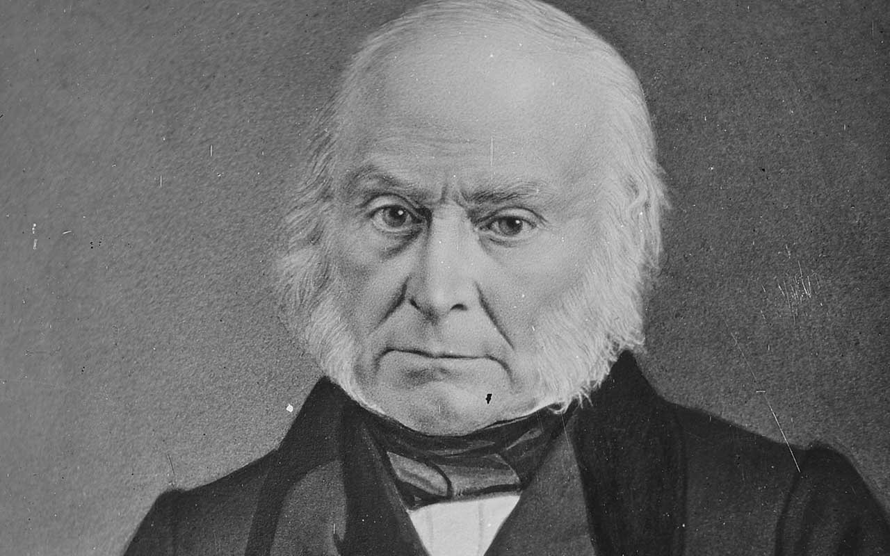 John Quincy Adams, president, events
