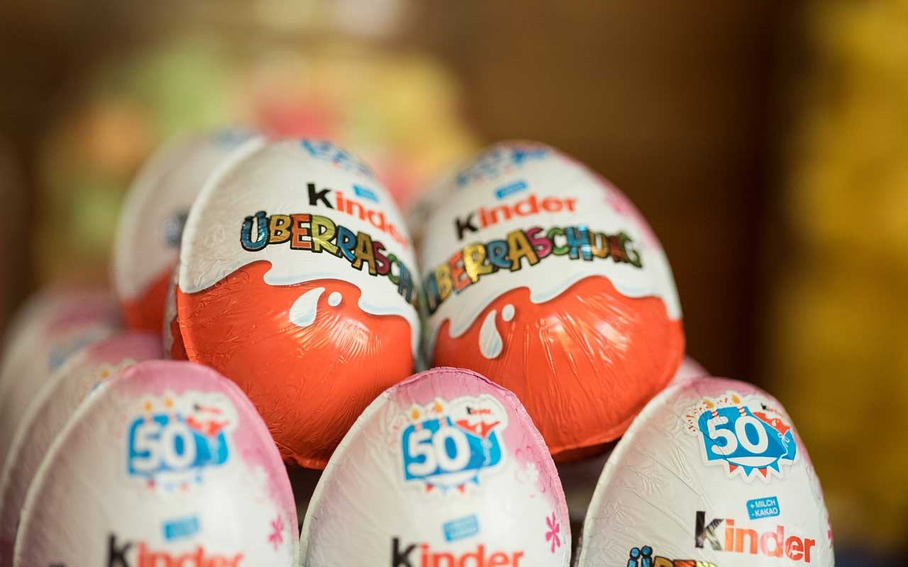 Kinder Eggs, food, toy, life, USA