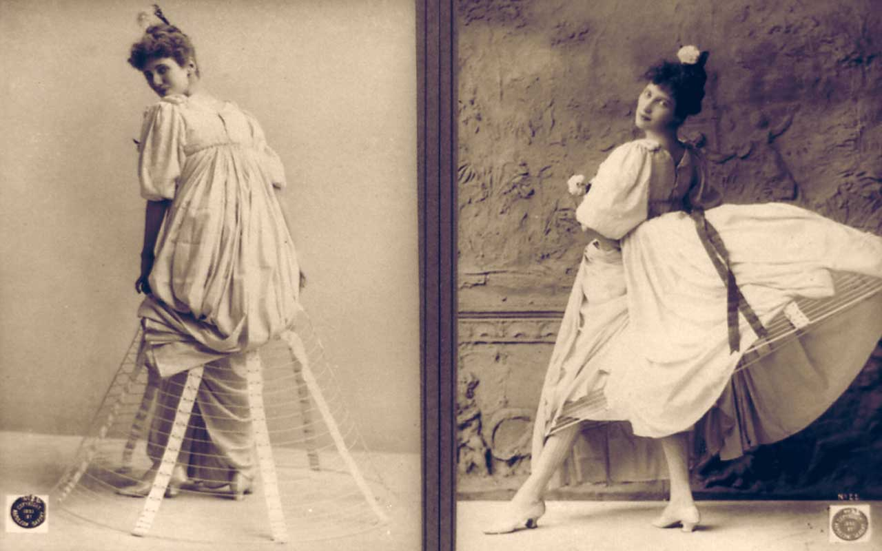 Hoop skirts, fashion, people, women, life