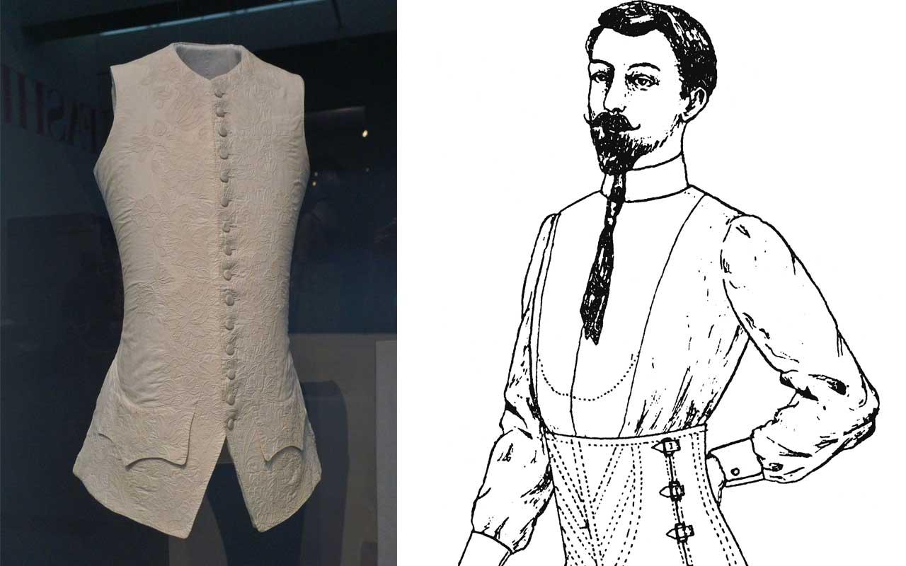 Male Corsets, dress, fashion, accessory