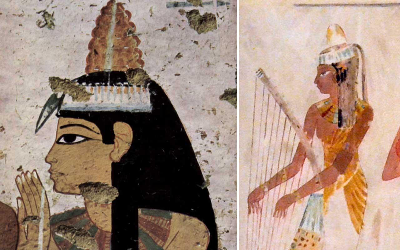 wax cones, Egypt, ancient, life