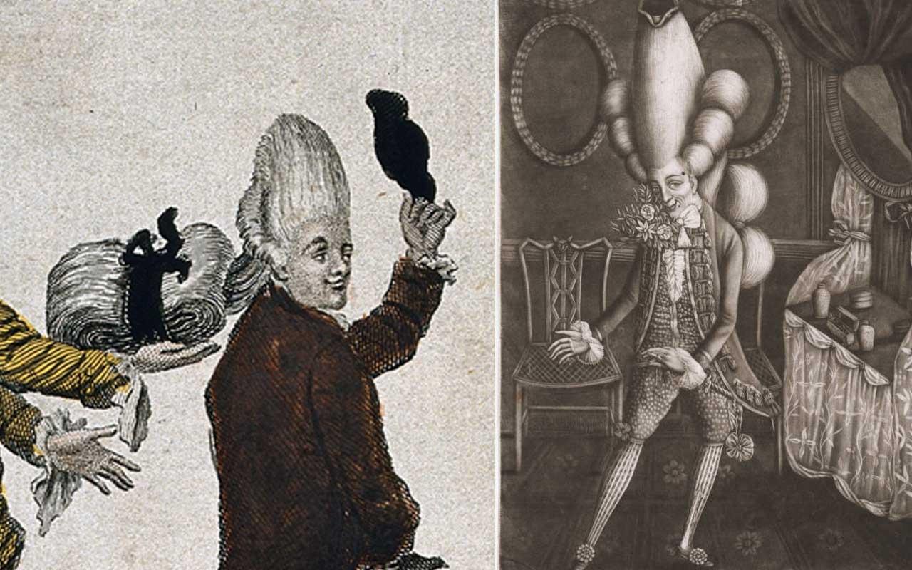 macaroni, fashion, history