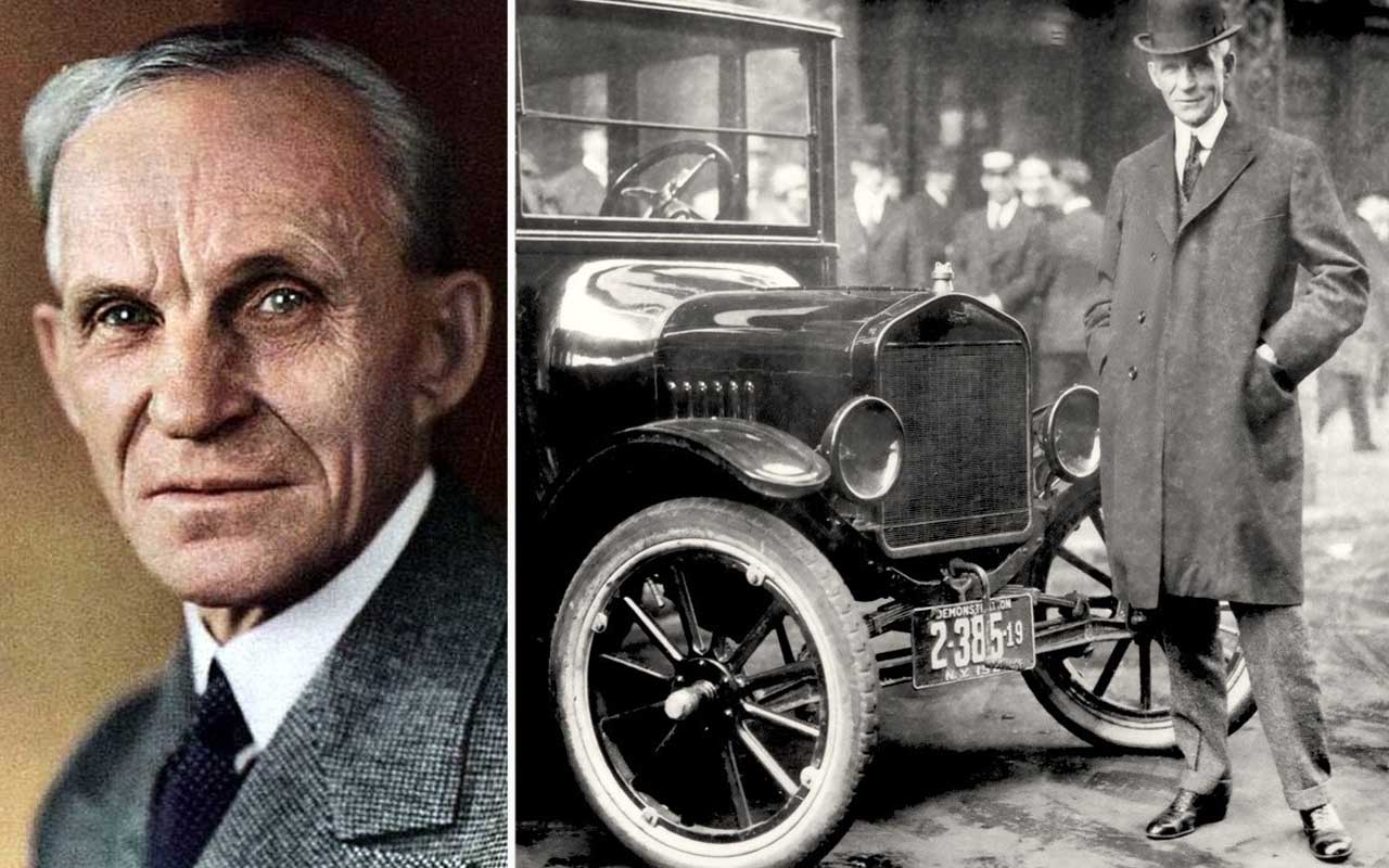Henry Ford, car, industry, life, people