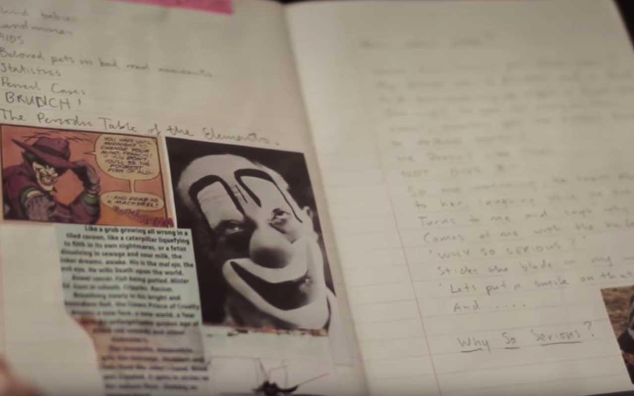 Joker, journal, diary, facts