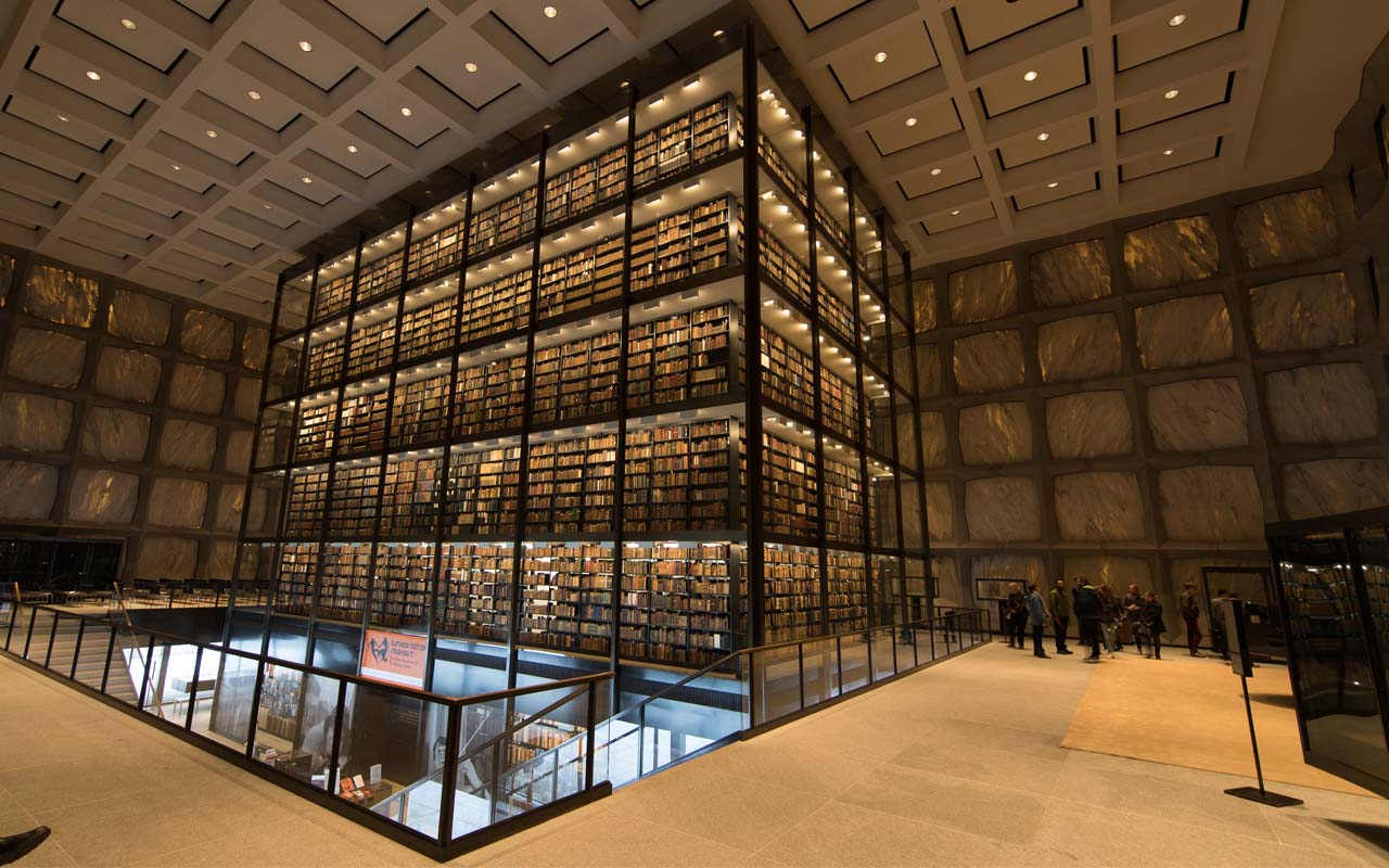 Beinecke Rare Book Library in New Haven, USA