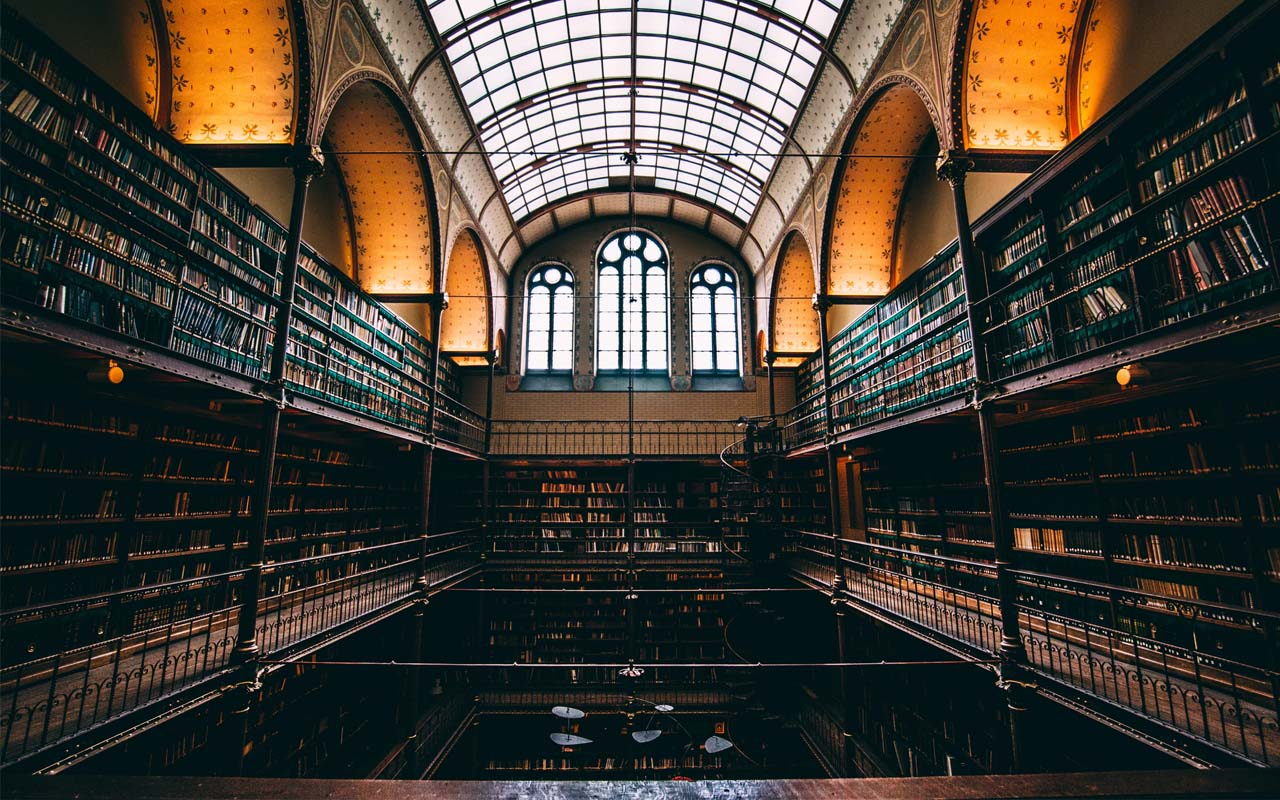Rijksmuseum, Amsterdam, Netherlands, libraries