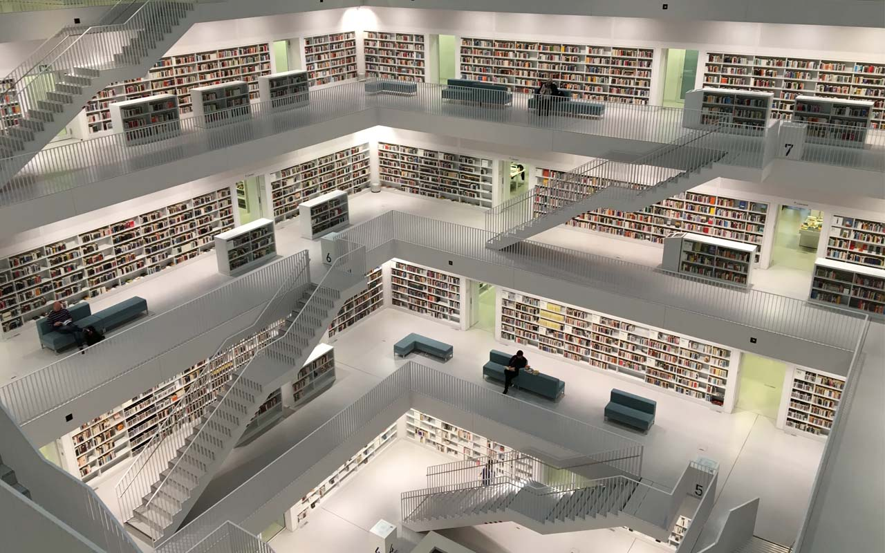 Stadtbibliothek, Stuttgart, Deutschland