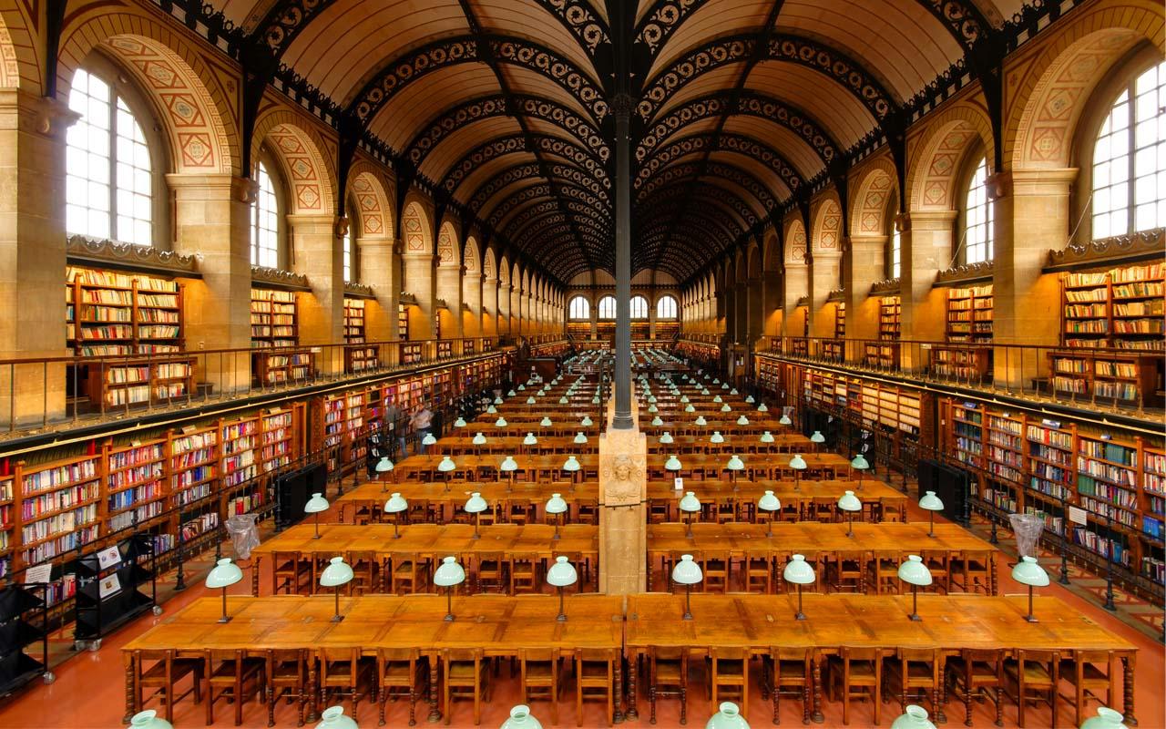 Bibliothéque Sainte-Geneviéve, Paris, France