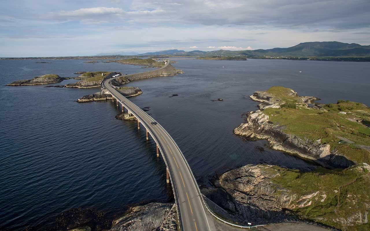 Atlantic Road, Norway, roads, places
