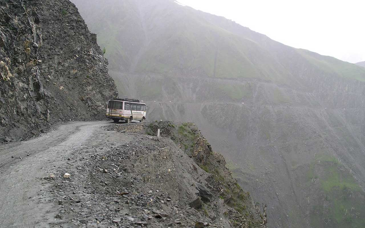 Zoji Pass, India, Kashmir, roads