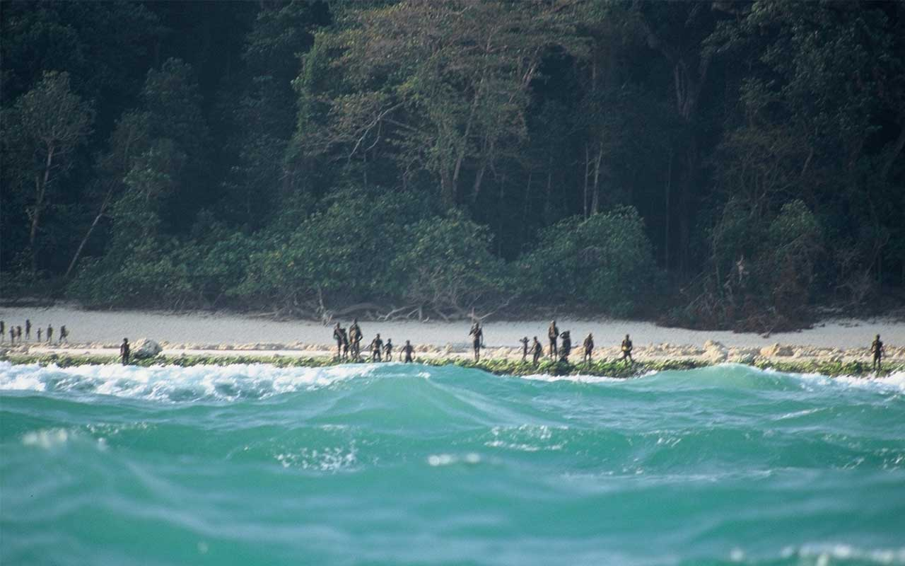 Sentinelese, facts, island, people