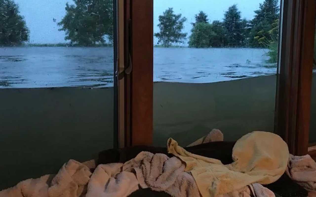 Rain, Minnesota, floods