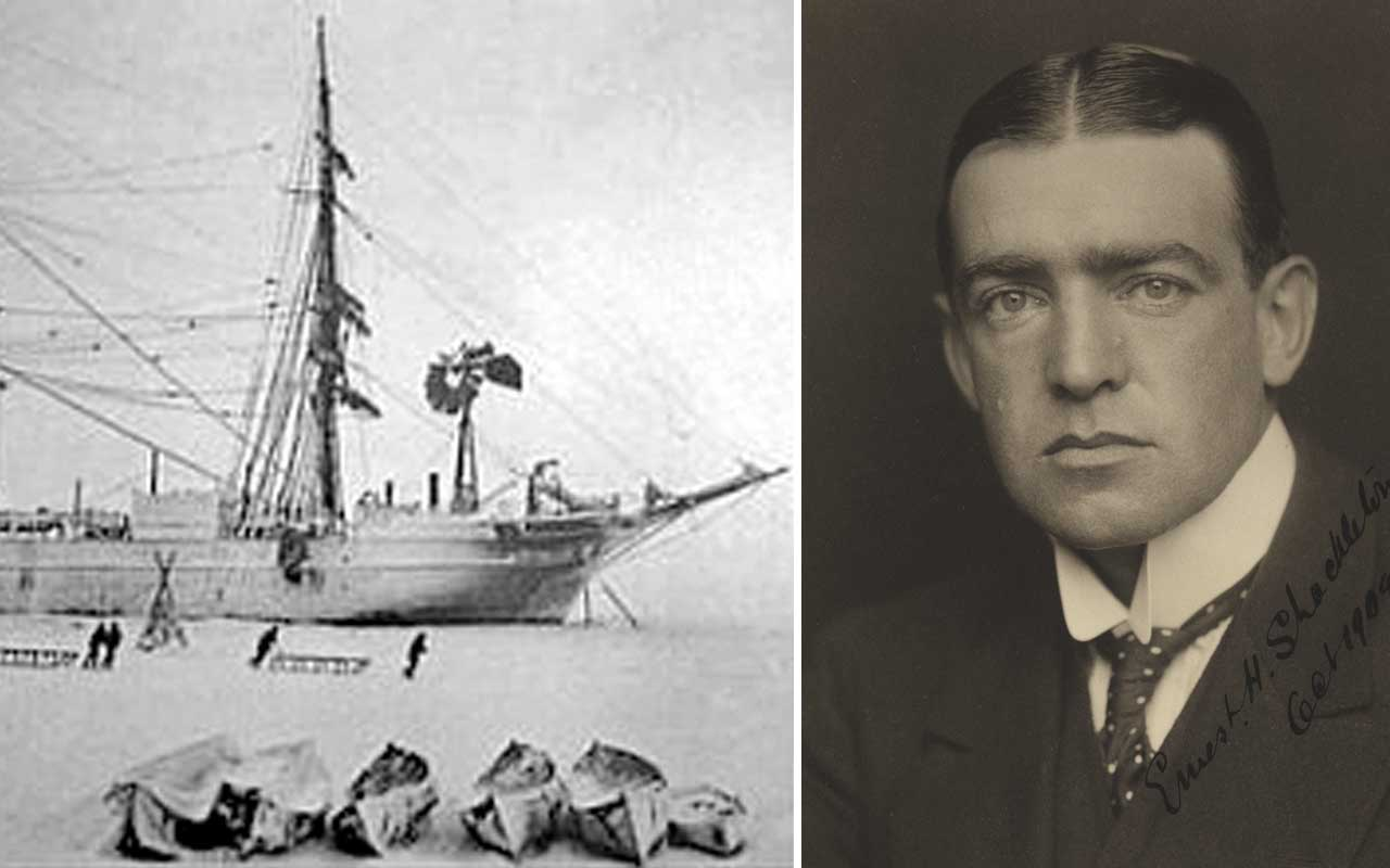 Ernest Shackleton, expedition, Arctic, castaway