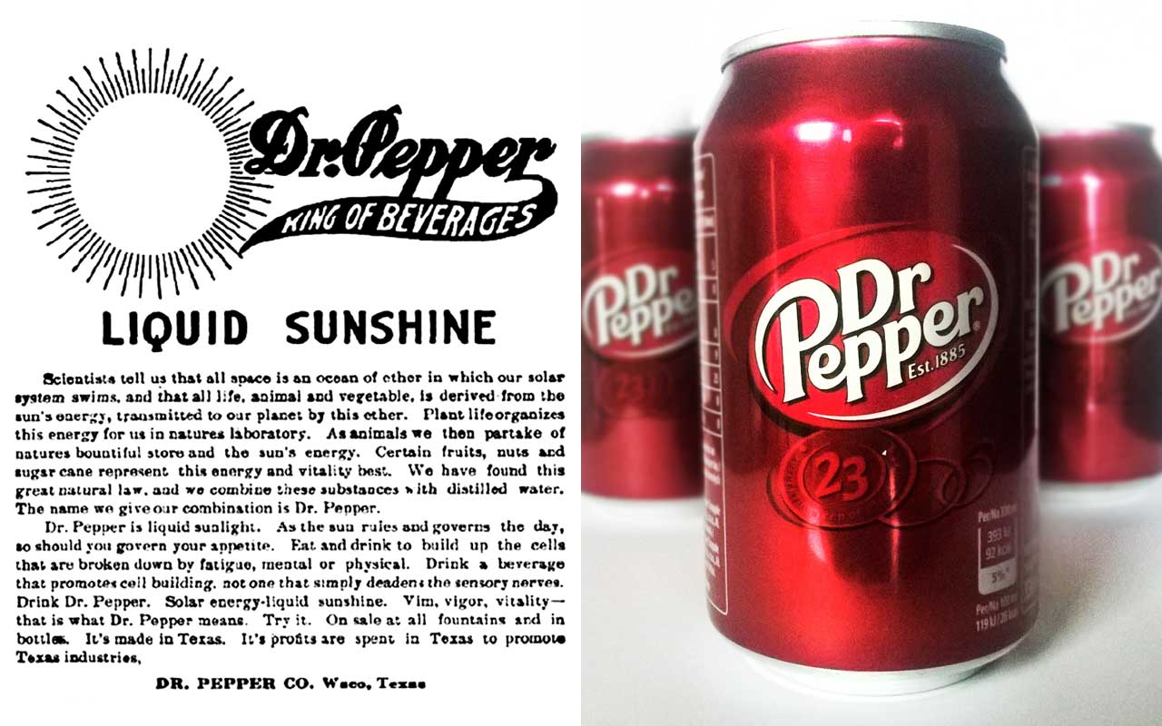 Dr Pepper, drink, foods, facts