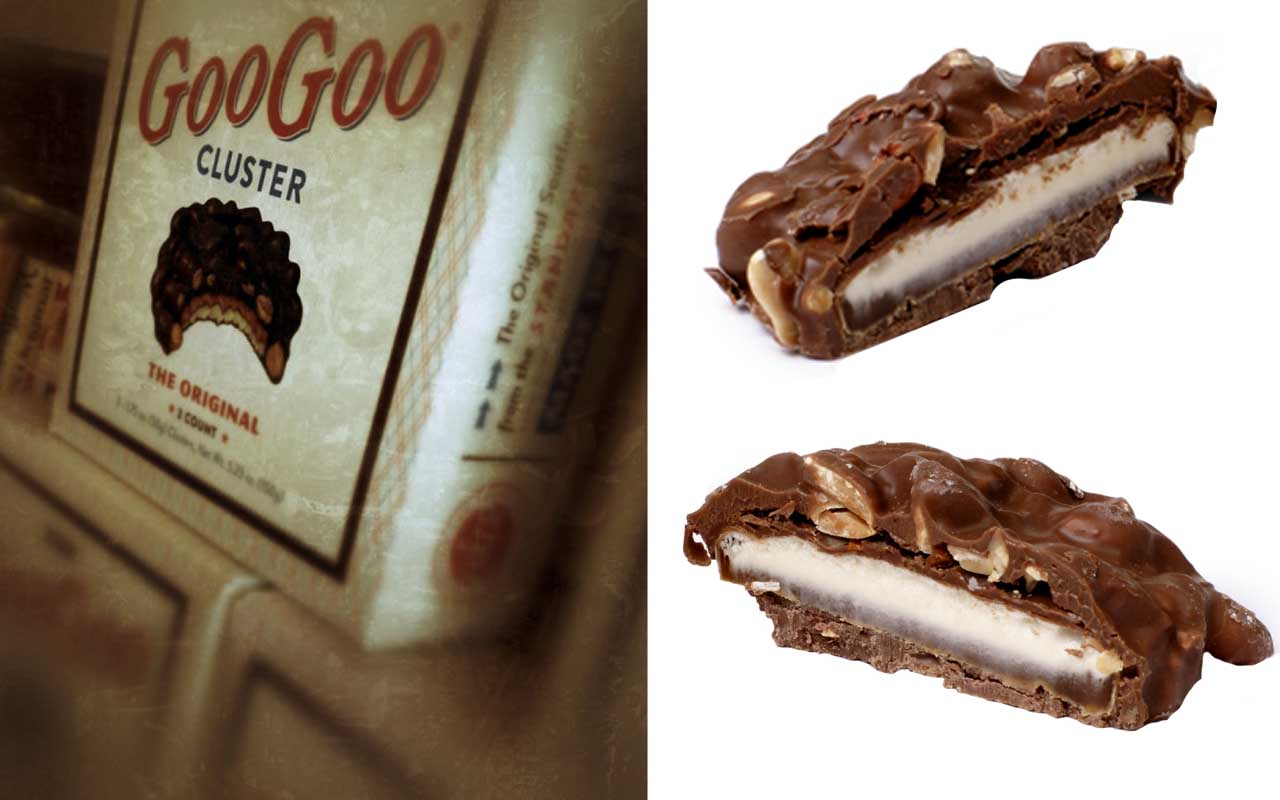 Goo Goo clusters, Great Depression, food