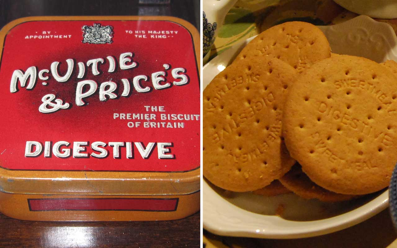 Digestive biscuits, foods, facts, medical
