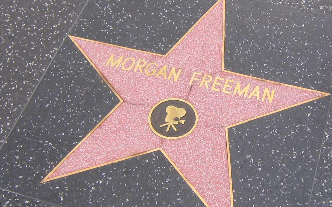 Morgan Freeman, life, celebrities