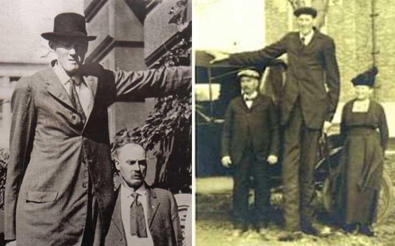 Bernard A. Coyne, giants, tallest man