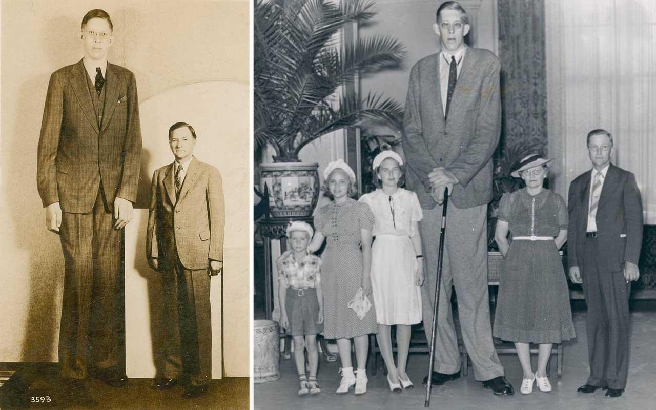 Robert Wadlow, giants, life, people