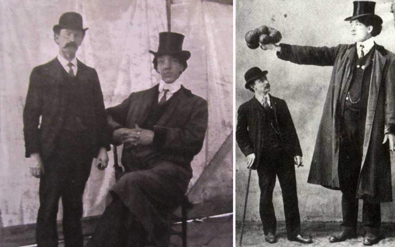 Joseph Edouard Beaupre, tallest man, giants