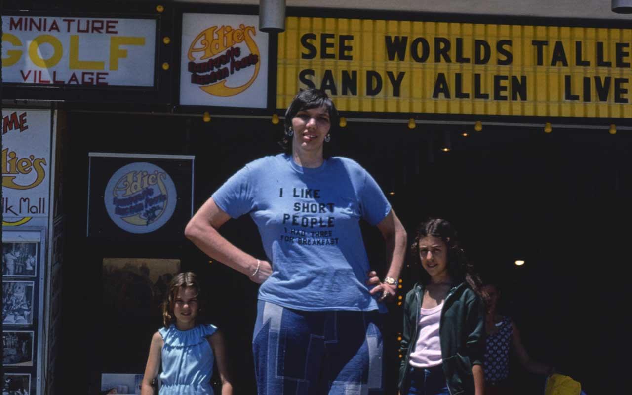 Sandy Allen, facts, life, people, giants