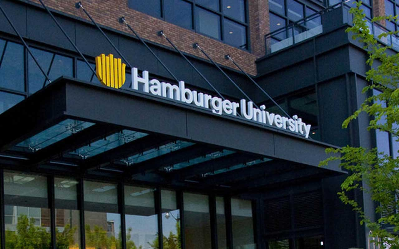 Hamburger University, McDonald's, food