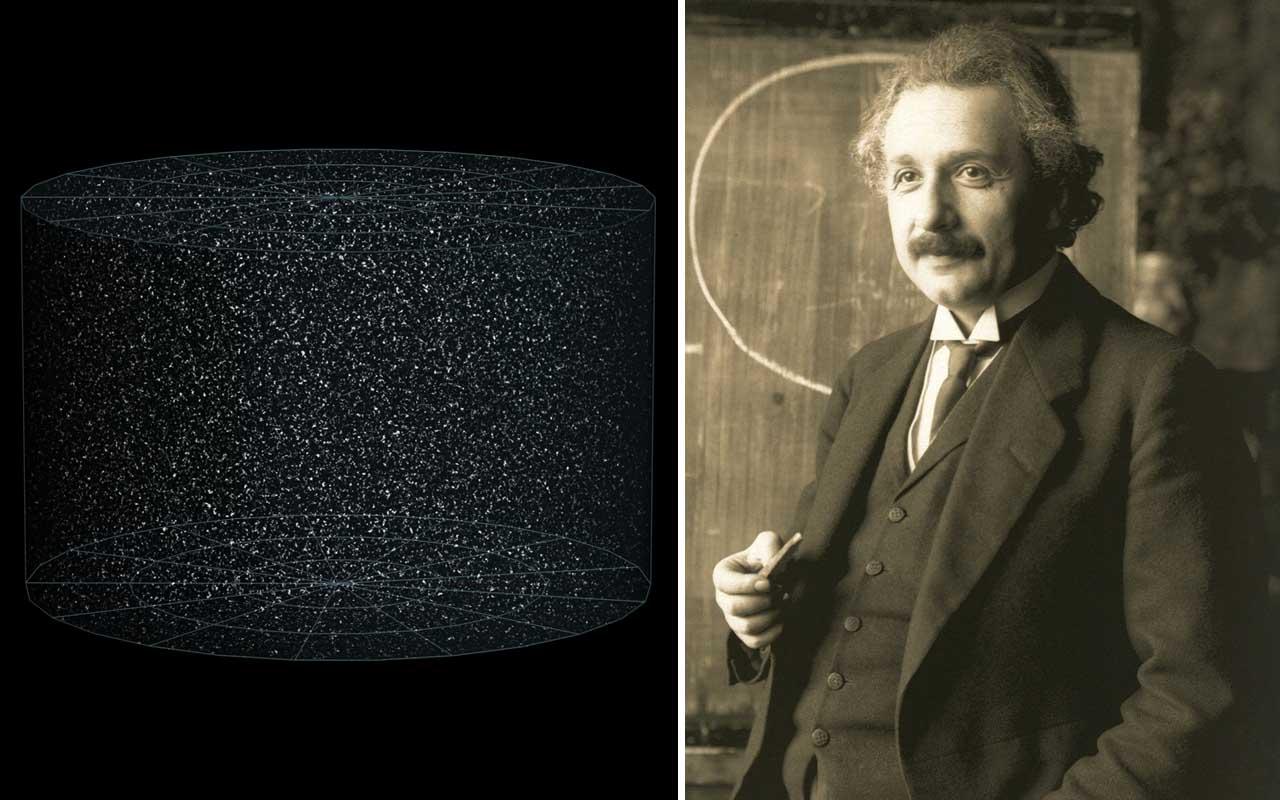 Albert Einstein, relativity, universe, finite