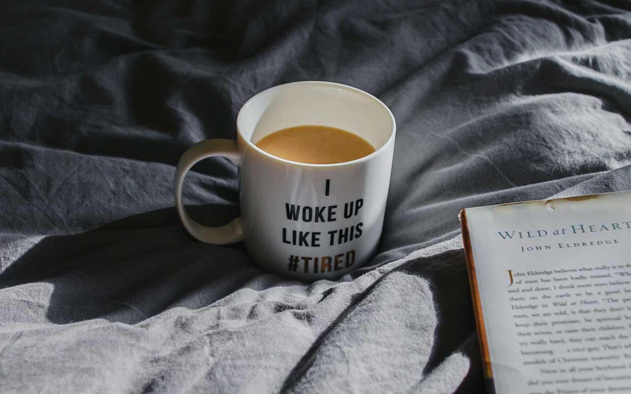 wake up, sleeping, coffee, music, benefits, facts