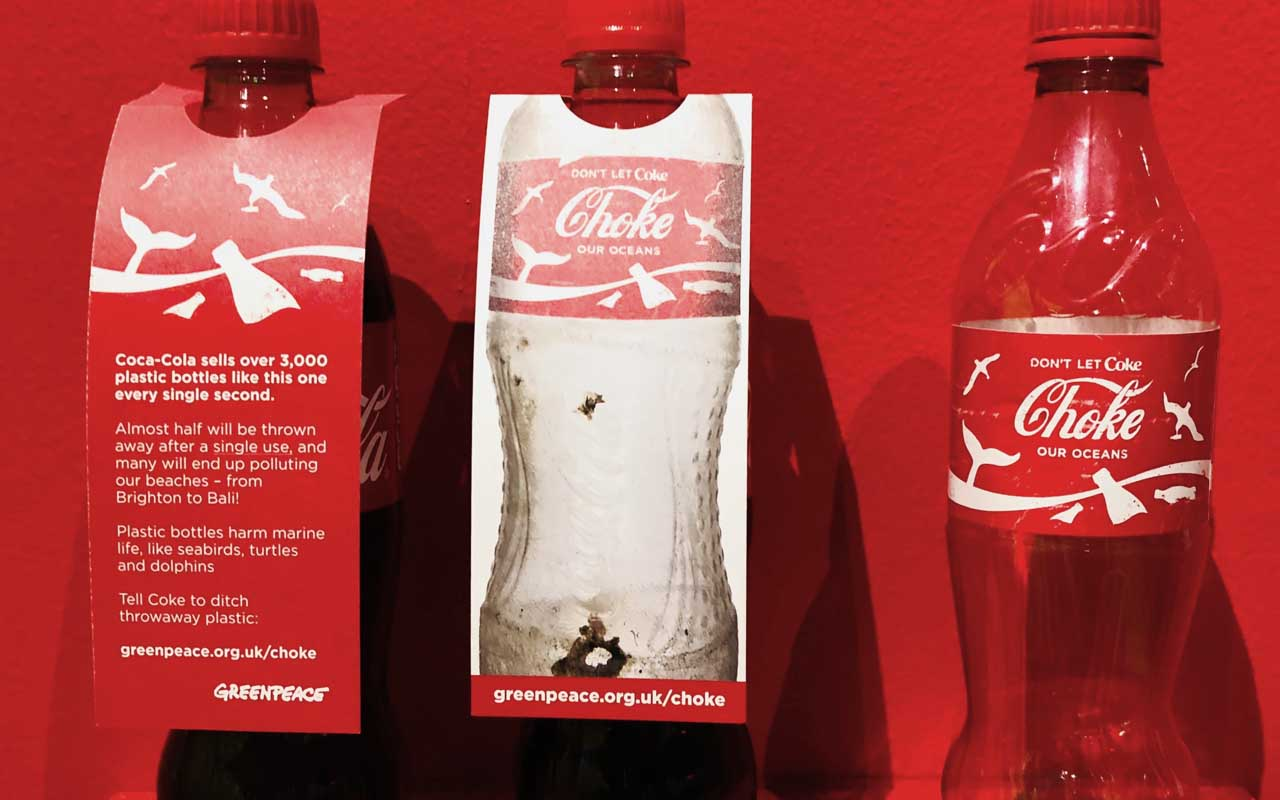Coca Cola, food, plastic, ocean, nature, facts