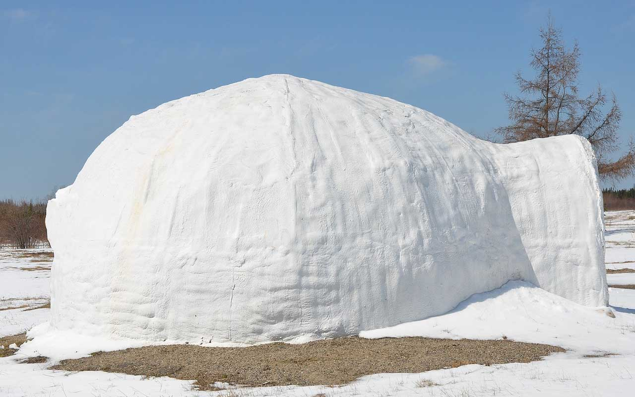 igloo, winter, snow, life, people, Alaska